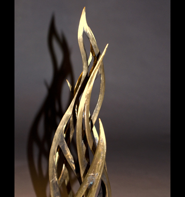 Cast Bronze, Granite. 21 x 18 x 14 in.